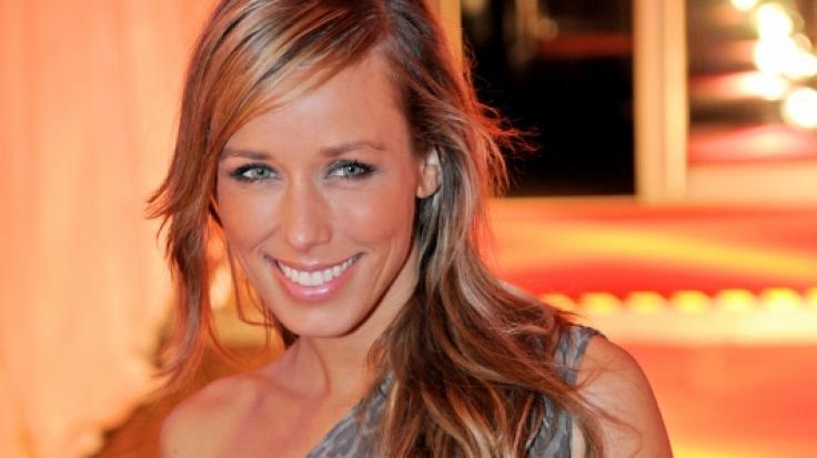 Annemarie Carpendale urlaubt aktuell auf Ibiza.