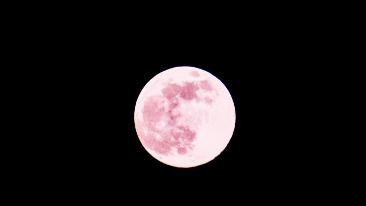 Am 05.06.2020 erstrahlt der Vollmond als Strawberry Moon am Himmel.