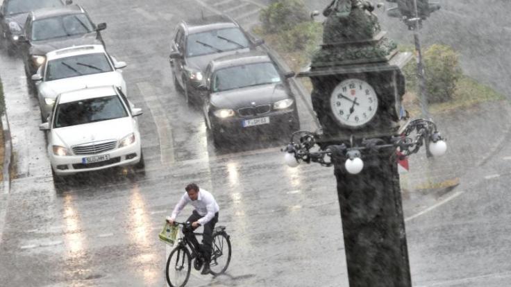 Unwetter beenden vorerst Hitzewelle