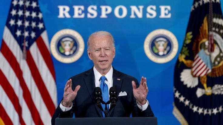 Ein Reporter kritisiert Joe Biden in einem Artikel scharf. (Foto)