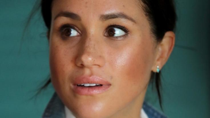 Meghan Markle hatte dank der Royals-News der vergangenen Tage nicht viel zu lachen. (Foto)