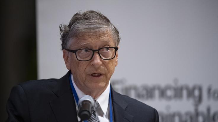 Bill Gates sieht ein Ende der Pandemie erst 2022. (Foto)