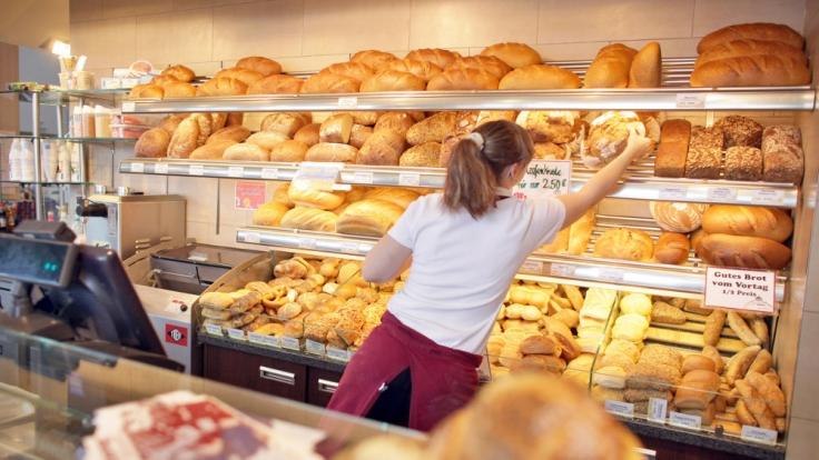 Der Heißhunger einer Bäckerei-Angestellten war zu groß.
