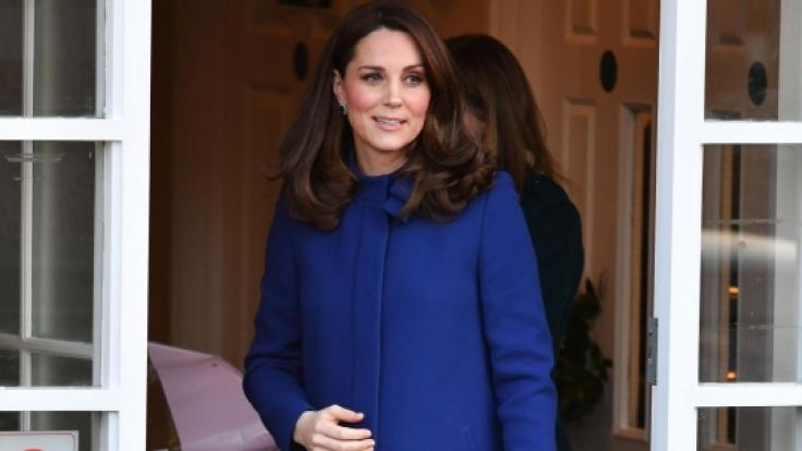 Kate Middleton hochschwanger: Im April kommt ihr drittes Kind zur Welt. (Foto)