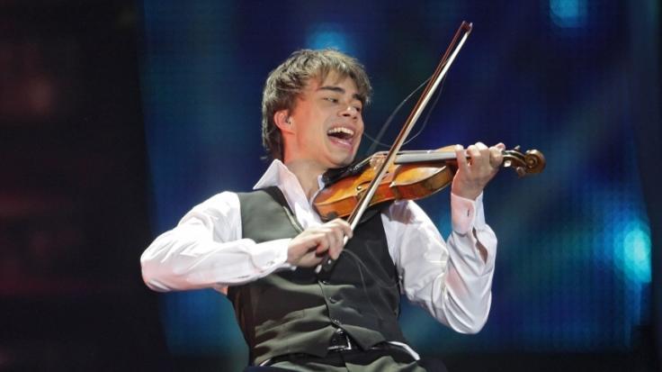 Der norwegische Musiker Alexander Rybak gewann am 16.05.2009 beim Finale des Eurovision Song Contests. (Foto)