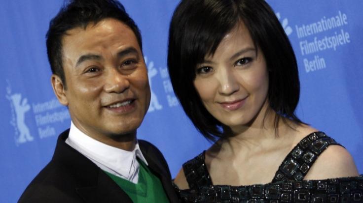 Der chinesische Schauspieler Simon Yam, hier mit seiner Kollegin Kelly Lin, wurde international durch eine Rolle in