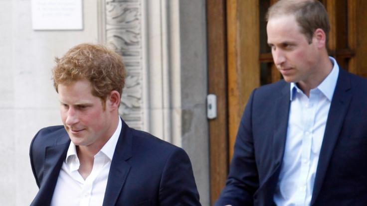 Der Tod von Prinz Philip könnte für die Prinzen Harry und William das Ende ihres Bruderzwists bedeuten.