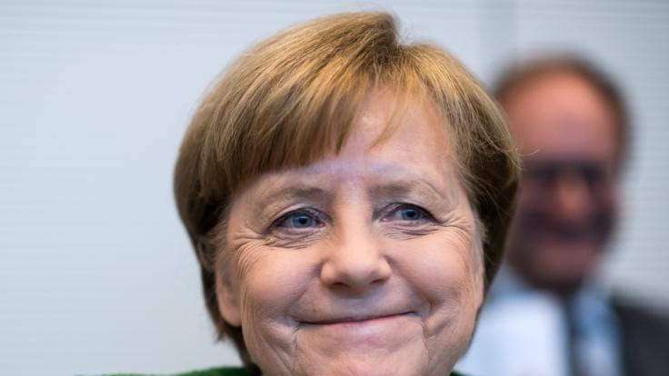 Merkel wurde zum vierten Mal zur Kanzlerin gewählt. (Foto)