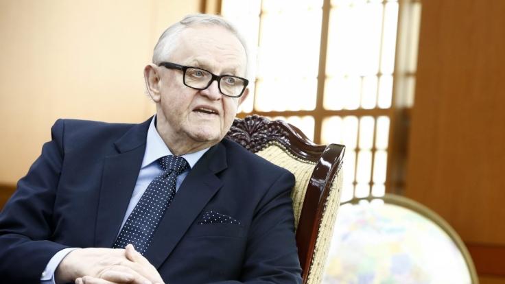 Friedensnobelpreisträger und ehemaliger finnischer Präsident Marrti Ahtisaari mit Coronavirus infiziert. (Foto)