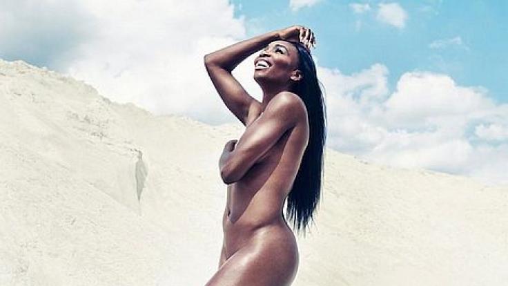 Venus im Eva-Kostüm