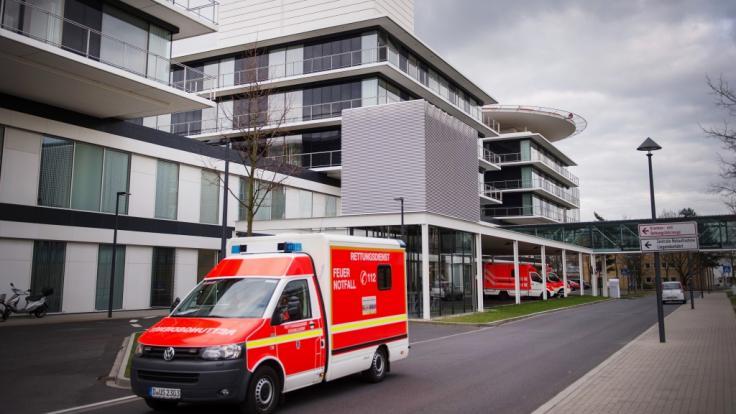 In der Düsseldorfer Notaufname kam es zu einem Polizeieinsatz.