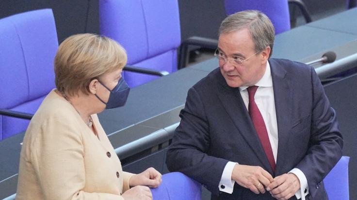 Die Umfragewerte der CDU sind katastrophal. Hat Laschet überhaupt noch eine Chance? (Foto)