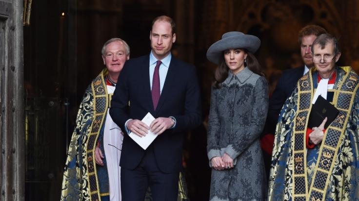 Kein glückliches Bild: So verstimmt zeigten sich Prinz William und Herzogin Kate gegenüber der Öffentlichkeit. (Foto)