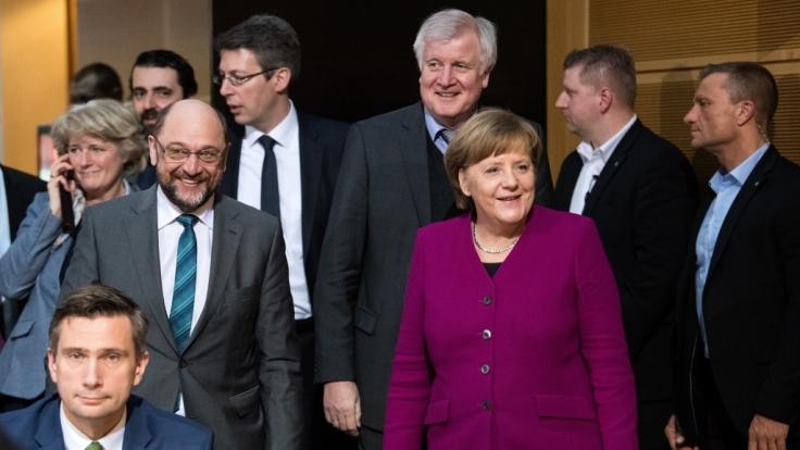 Trotz laufender Verhandlungen gibt es bereits Einigungen zwischen CDU, CSU und SPD.