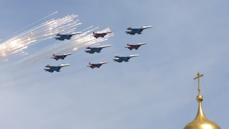 Ein angebliches Video aus einer russischen Pilotenschule sorgt momentan für einen handfesten Eklat.