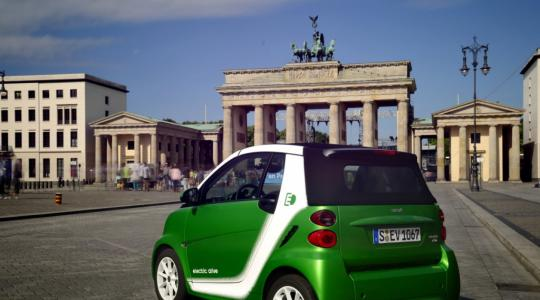 Die besten Bilder zu Smart Fortwo electric drive: Coming home (Foto)
