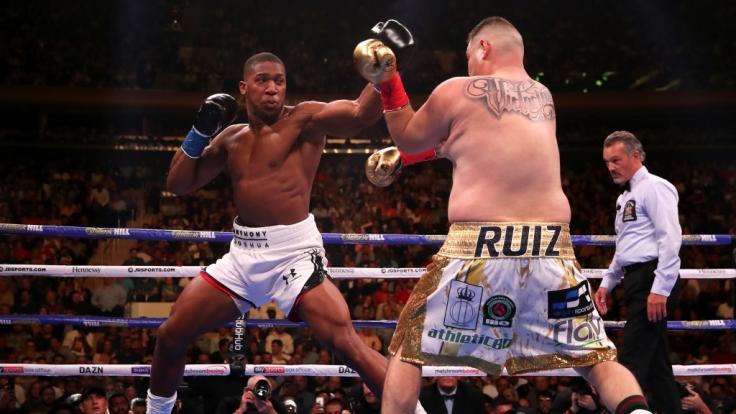 Anthony Joshua verliert krachend mit KO gegen den krassen Außenseiter Andy Ruiz Jr!
