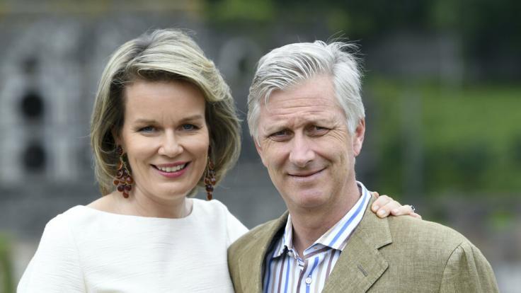 Seit über 20 Jahren gehen Königin Mathilde und König Philippe gemeinsam durchs Leben. (Foto)
