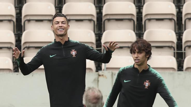 Portugals Superstar Cristiano Ronaldo ist heiß auf den Titel.