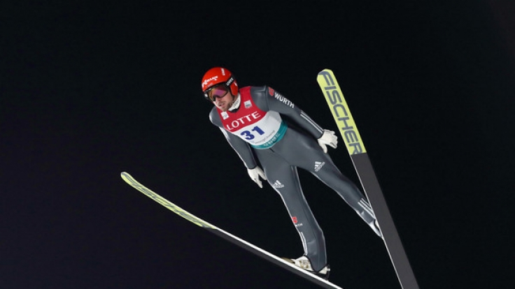 Beim Skifliegen in Pyeongchang treten die deutschen Wintersportler in voller Mannschaftsstärke an.