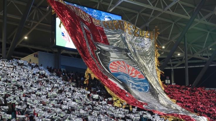Die Fans von RB Leipzig zeigen immer wieder in großen Aktionen ihre Liebe zum Verein. (Symbolbild) (Foto)