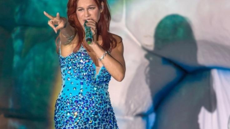 Andrea Berg wird am Sonntag live bei Kiwi einen ihrer größten Hits singen. (Foto)