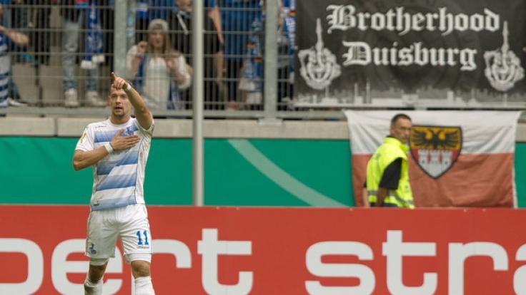 Der MSV Duisburg geht als Tabellenführer in den 31. Spieltag der 3. Liga. (Foto)