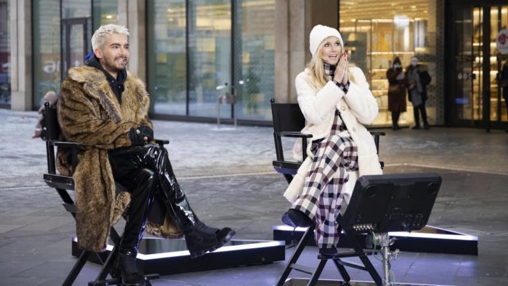 "In Folge 13 von ""Germany's Next Topmodel"" nimmt Bill Kaulitz als Gastjuror neben Heidi Klum Platz (Foto)"