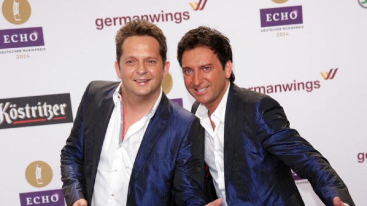Martin Marcell Hein (links) und Fredi Malinowski alias Freddy März bilden das Duo