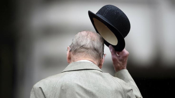 Prinz Philip wollte zu Hause sterben - an der Seite seiner Ehefrau. (Foto)
