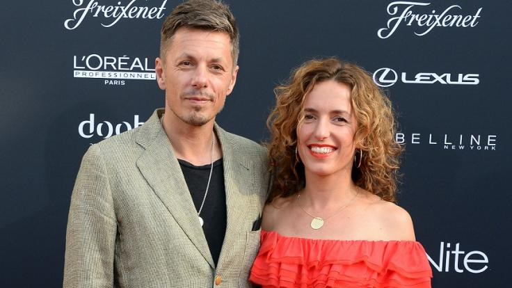 """Michi Beck besuchte gemeinsam mit seiner Frau Ulrike Fleischer die """"Michalsky StyleNite"""" von Modedesigner Michael Michalsky im Jahr 2016. (Foto)"""