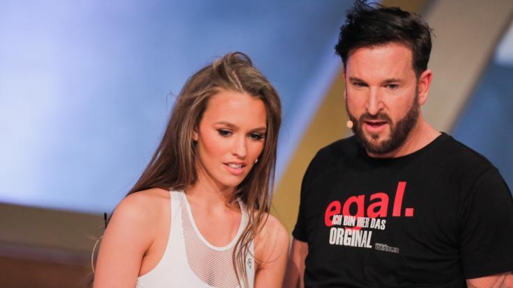 Laura Müller und Michael Wendler. (Foto)