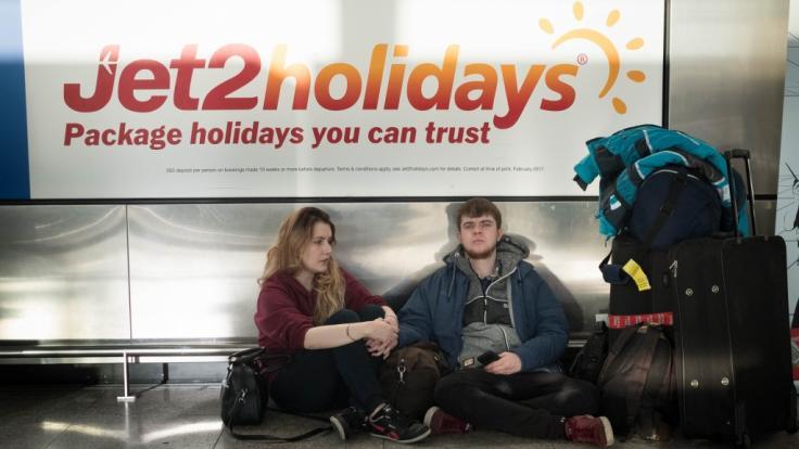 Ein Flug des Anbieters Jet2 von London-Stansted nach Dalaman (Türkei) musste wegen einer randalierenden Passagierin abgebrochen werden. (Foto)