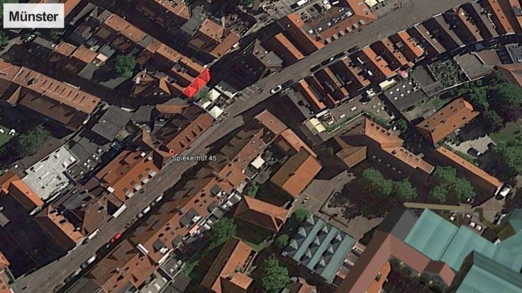 In Münster ist ein Auto in eine Menschenmenge gerast. (Foto)