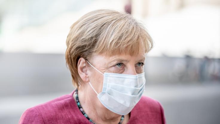 Angela Merkel warnt aktuell vor einem starken Anstieg der Corona-Zahlen. (Foto)