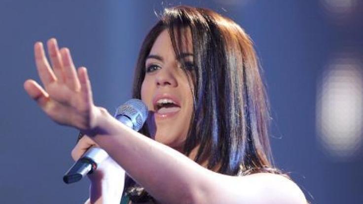 """2009 stand Sarah Kreuz als Kandidatin bei """"Deutschland sucht den Superstar"""" im Rampenlicht. (Foto)"""