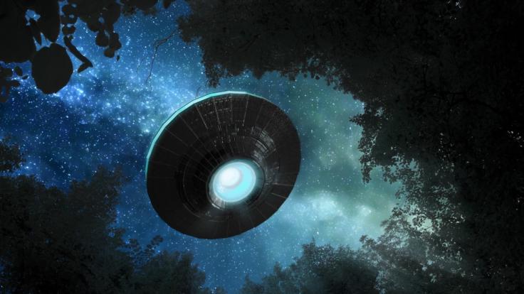 Videos, die Sichtungen von Aliens und Ufos zeigen sollen, faszinieren Verschwörungstheoretiker immer wieder. (Foto)