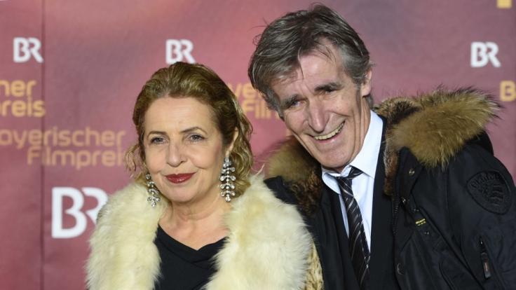 Die Schauspielerin Michaela May und ihr Mann, der Regisseur Bernd Schadewald.