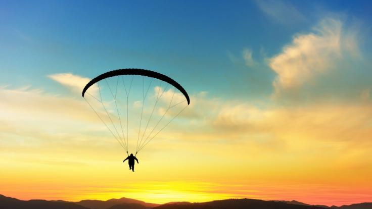 Bei Paragliding ist der 38-jährige Grant Thompson gestorben. (Foto)