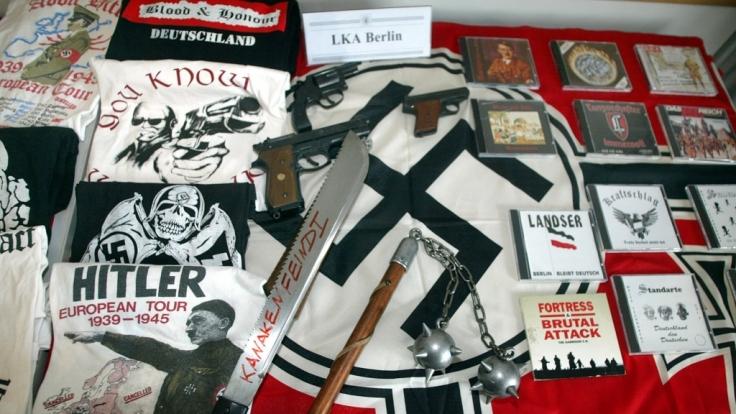 Über 100 aktive Nazi-Bands gibt es in Deutschland.