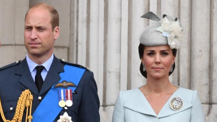 Prinz William und Herzogin Kate sehen sich mit miesen Gerüchten konfrontiert. (Foto)