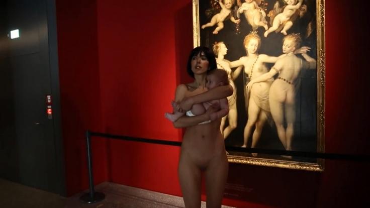 Sie wollte herausfinden, wie wenig Abstraktion die Kunst verträgt. (Foto)