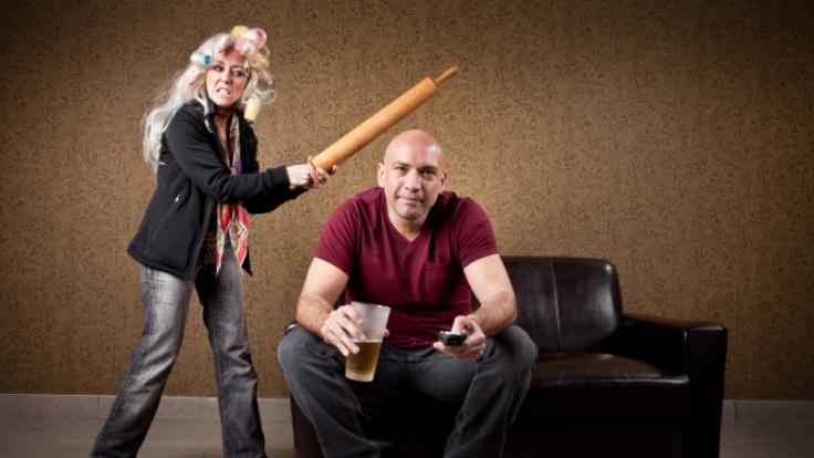 Zufriedene Männer treiben Frauen in den Wahnsinn. (Foto)