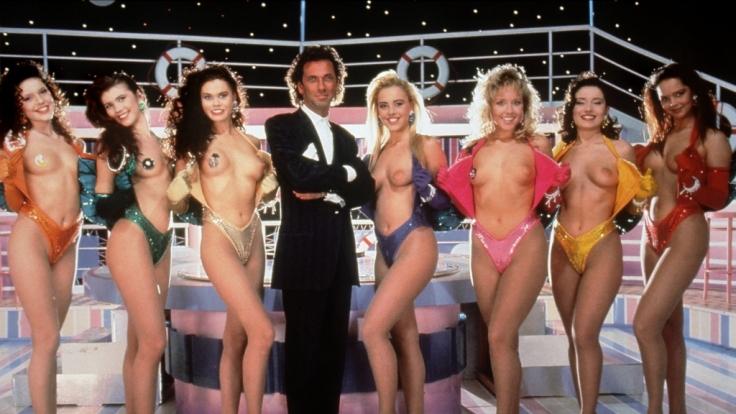 """Mit """"Tutti Frutti"""" sorgten RTL und Moderator Hugo Egon Balder (Mitte) Anfang der 1990er für Furore. (Foto)"""