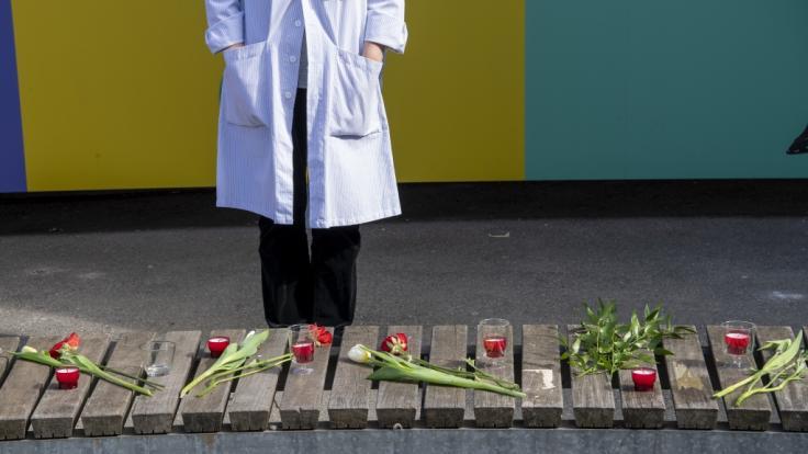 Am Mittwoch ist eine Schweigeminute für alle europäischem Corona-Opfer geplant. (Foto)