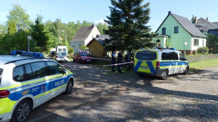 In Brandenburg hat ein Mann seine Frau mit einer Motorsäge getötet. (Foto)