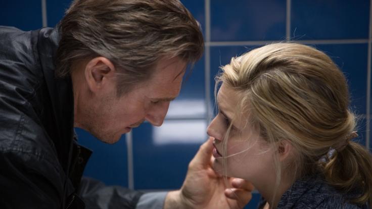 Bryan Mills (Liam Neeson) will um jeden Preis seine Tochter Kim (Maggie Grace) beschützen. (Foto)