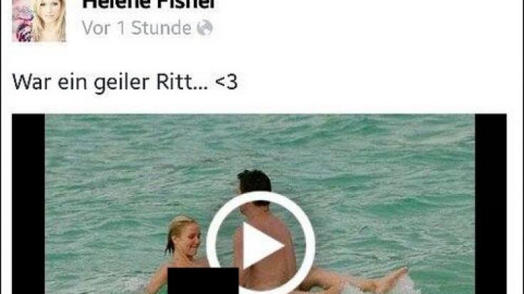 Zahlreiche Facebook-User tappten in die Porno-Video-Falle.