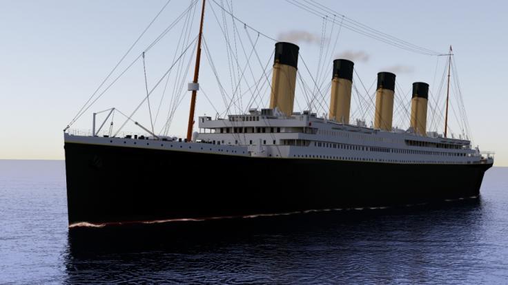 Wissenschaftler rätseln über eine Flaschenpost, die einen Tag vor dem Untergang der RMS Titanic von einer Passagierin (12) verfasst wurde. (Foto)