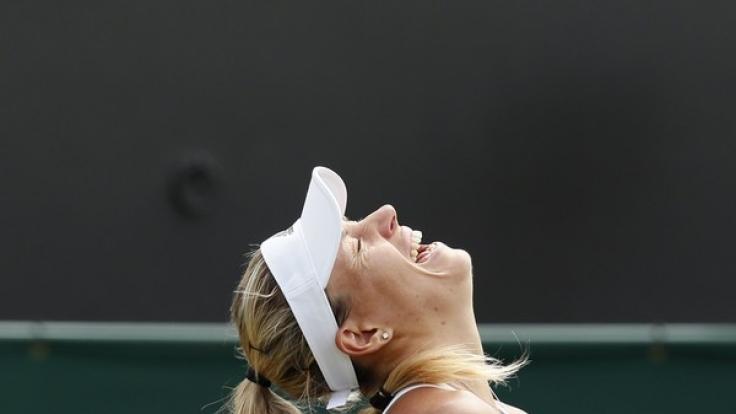 Angelique Kerber steht in Wimbledon im Achtelfinale.